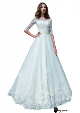 AmyGown Beach Wedding Ball Gowns T801525319017