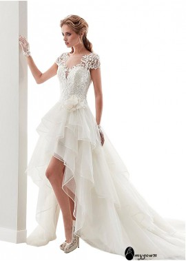 AmyGown Beach Short Wedding Dresses T801525318445