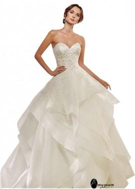 AmyGown Beach Wedding Ball Gowns T801525318209