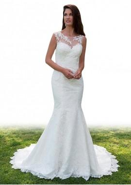 AmyGown Beach Wedding Dresses T801525317484