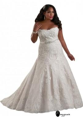 AmyGown Plus Size Wedding Dress T801525325536