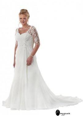 AmyGown Beach Plus Size Wedding Dresses T801525317715